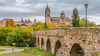 Photograph - Historic City Of Salamanca by JR Photography
