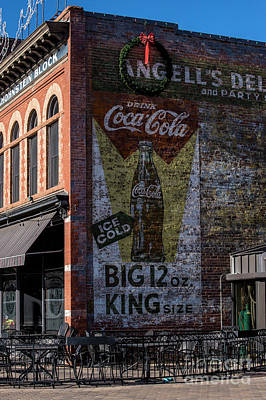 Coca-cola Signs Photograph - Historic Coca Cola Brick Ad - Fort Collins - Colorado by Gary Whitton