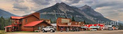 Photograph - Historic Cooke City Panorama by Adam Jewell