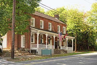 Photograph - Historic Dandridge Home by Sharon Popek