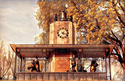 Photograph - Historic Delacorte Musical Clock At The Central Park Zoo by Miriam Danar