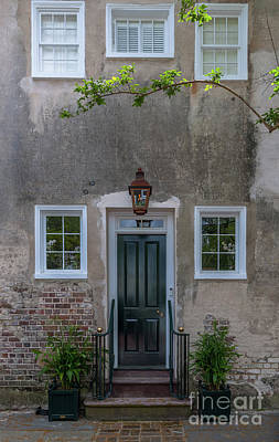 Photograph - Historic Downtown Charleston Entrance  by Dale Powell