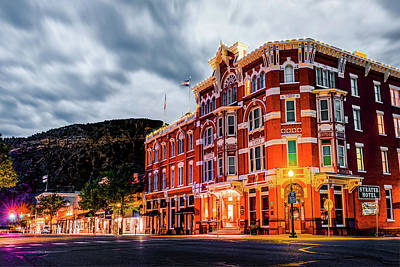 Photograph - Historic Downtown Durango Colorado Along Main Avenue by Gregory Ballos