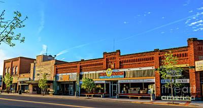 Photograph - Historic Downtown Emmett  02 by Robert Bales