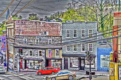 Photograph - Historic Ellicott City by William Norton