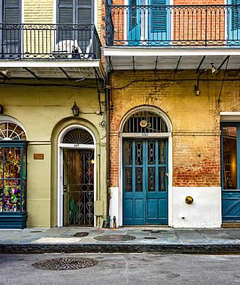 Historic Entrances Art Print by Steve Harrington