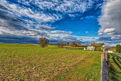 Photograph - Historic Farm by John M Bailey