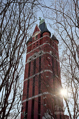 Photograph - Historic First Presbyterian Church Bell Tower by Patrick M Lynch