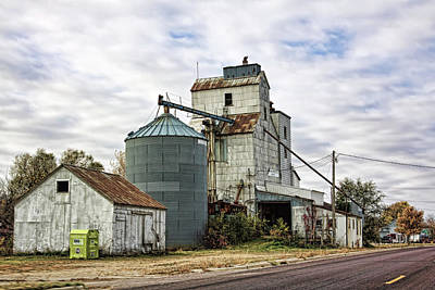 Photograph - Historic Grain Elevator by Tatiana Travelways