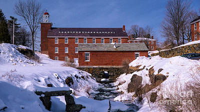 Photograph - Historic Harrisville, New Hampshire by New England Photography