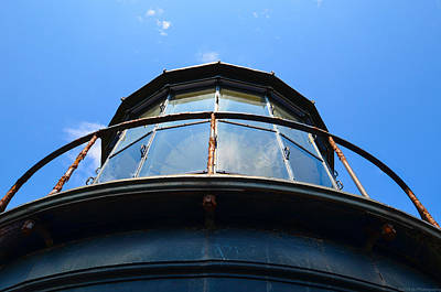 Photograph - Historic Hatteras Light Detail by Jeff at JSJ Photography
