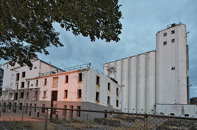 Photograph - Historic Hayden Grain Elevator by Dave Dilli