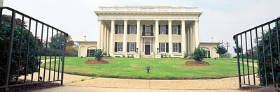 Historic Home From 1836, Macon, Georgia Art Print by Panoramic Images