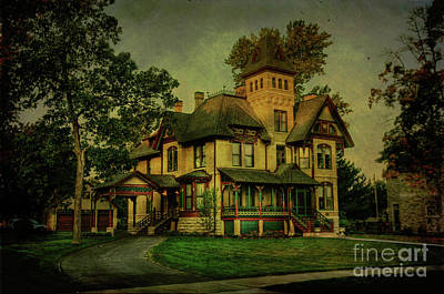 Photograph - Historic Home by Joel Witmeyer