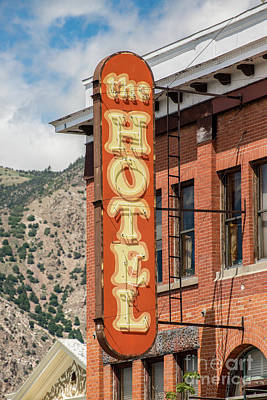 Photograph - Historic Howard Hotel - Brigham City - Utah by Gary Whitton