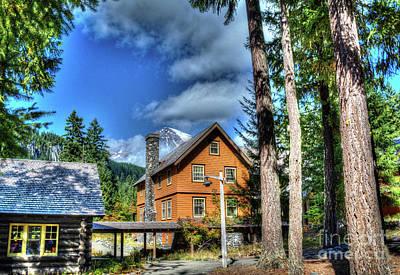 Photograph - Historic Inn by Deborah Klubertanz