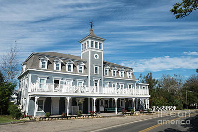 Photograph - Historic Inns And Hotels On Block Island Rhode Island by Wayne Moran