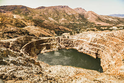 Flood Wall Art - Photograph - Historic Iron Ore Mine by Jorgo Photography - Wall Art Gallery