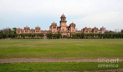 Photograph - Historic Islamia College University Main Building Peshawar Pakistan by Imran Ahmed