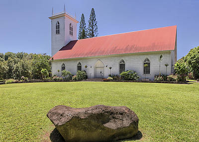 Photograph - Historic Kalahikiola Church by Susan Rissi Tregoning