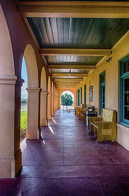 Photograph - Historic Kelso Depot by Gaelyn Olmsted