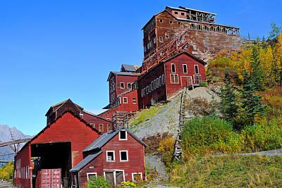 Photograph - Historic Kennicott Mine by Alan Lenk
