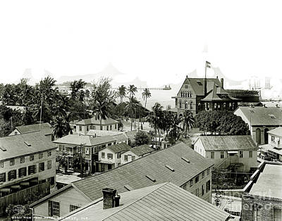 Old Keys Photograph - Historic Key West by Jon Neidert