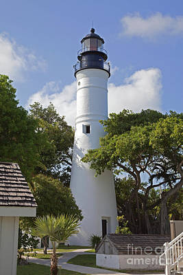 Photograph - Historic Key West Light House by John Stephens