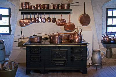 Photograph - Historic Kitchen by Inge Riis McDonald