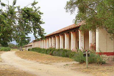 Photograph - Historic La Purisima Mission by Art Block Collections