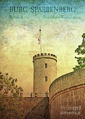 Photograph - Historic Landmark Sparrenberg Castle by Gabriele Pomykaj