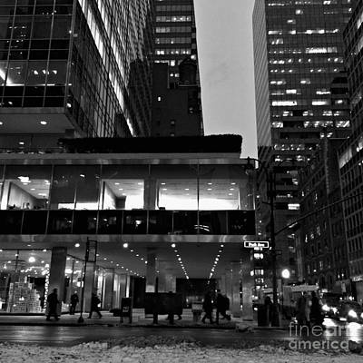 Photograph - Historic Lever House - New York City by Miriam Danar