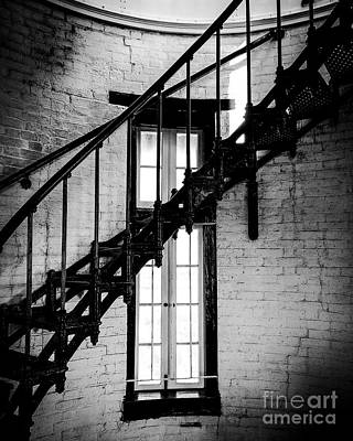 Historic Lighthouse Steps Art Print by JMerrickMedia