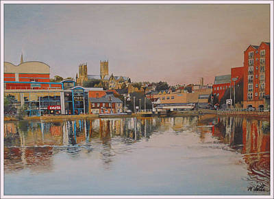 Etc. Painting - Historic Lincoln by Mark Sutton