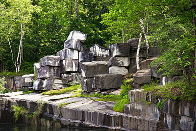 Historic Marble Quarry In Dorset, Vermont Print by Lynne Albright