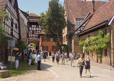 Photograph - historic Maulbronn by Rudi Prott