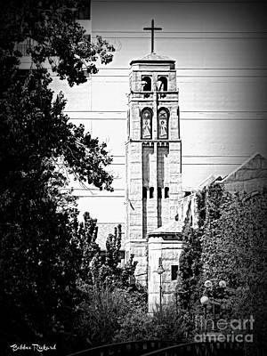 Photograph - Historic Methodist Church by Bobbee Rickard