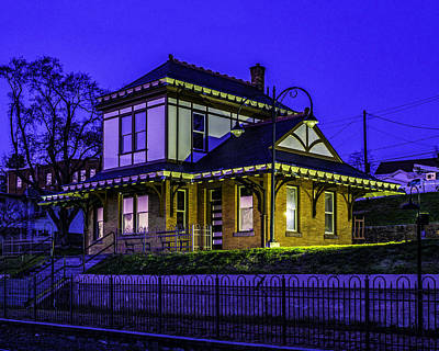 Photograph - Historic Millersburg Station by Nick Zelinsky