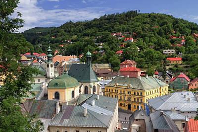 Historic Mining Town Banska Stiavnica, Slovakia Art Print