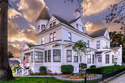 Photograph - Historic Monterey Home by Derek Dean