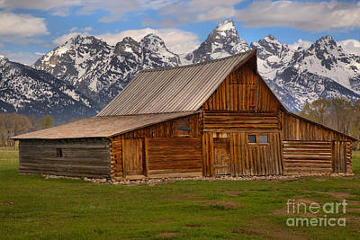 Photograph - Historic Moulton Barn by Adam Jewell