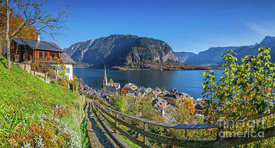 Photograph - Hiking In Hallstatt by JR Photography