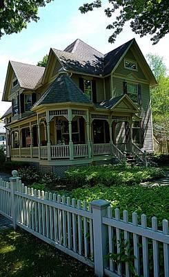 Historic New England House Art Print by Richard Jenkins