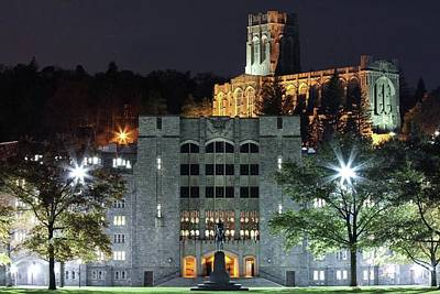 West Point Photograph - Historic Night by Jared Lail