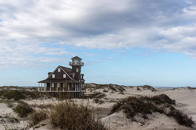 Photograph - Historic Oregon Inlet Lifesaving Station by Gregg Southard