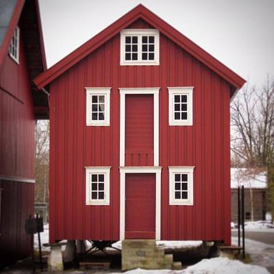 Photograph - Historic Oslo Farm House by Henri Irizarri