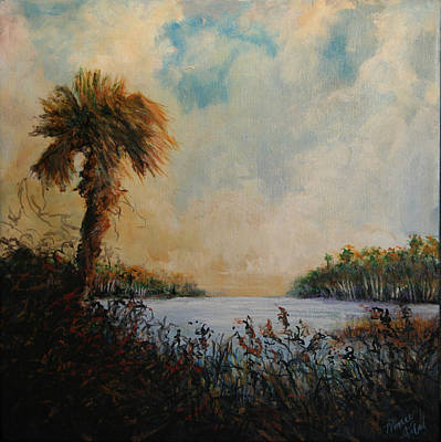 Historic Palm Print by Michele Hollister - for Nancy Asbell