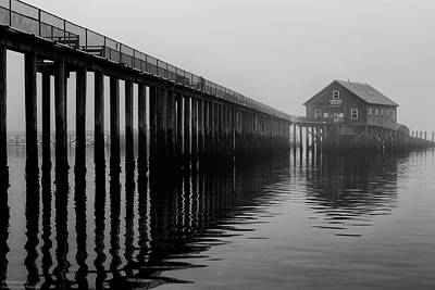 Photograph - Historic Pier's End Pier  by Hany J