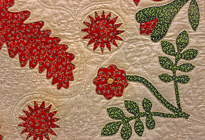 Photograph - Historic Quilt by Susan Vineyard