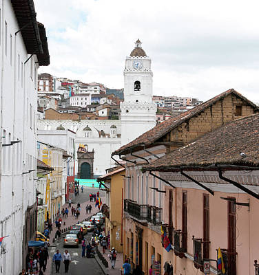 Photograph - Historic Quito by Cascade Colors